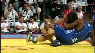 66 кг. А.Батыров- Л.Лопес, Чемпионат мира-2011, за бронзу