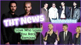 THT News: #LWLYB Remixes + Entrevistas con Tokio Hotel + Bill Kaulitz en Munich | Yu Stern