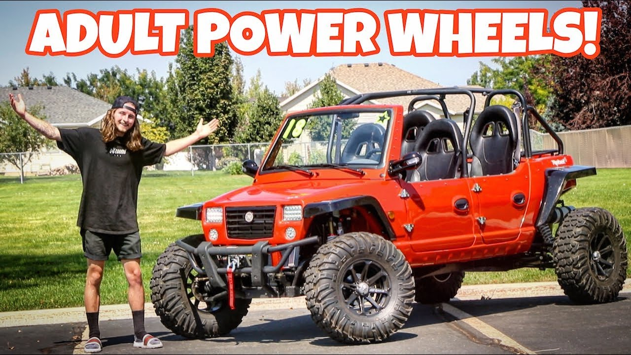 I Bought An Adult Size Power Wheels Youtube