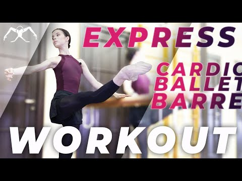 CARDIO BALLET class (express barre) turbo WORKOUT
