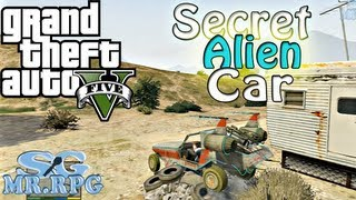 GTA V: Secret Alien Car | Space Docker Fail