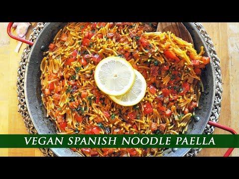 VEGAN FIDEUÁ RECIPE  | Spanish Noodle Paella