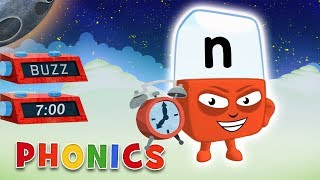 Phonics - Learn to Read | N for November | Alphablocks