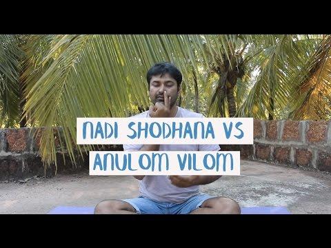 Nadi Shodhana vs Anulom Vilom