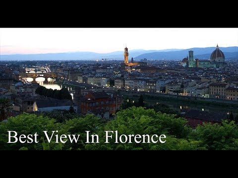 Piazzale Michelangelo | Must See In Florence
