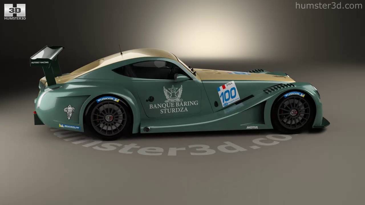 Morgan aero 8 supersports gt3 2009 3d model by humster3d youtube morgan aero 8 supersports gt3 2009 3d model by humster3d vanachro Images