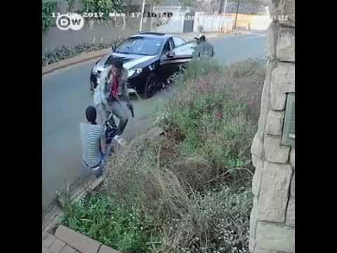 DW News   South Africa student fights to keep thesis during robbery