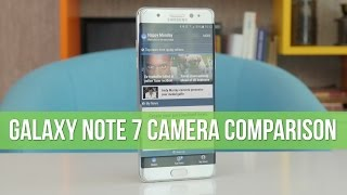Samsung Galaxy Note 7 camera comparison vs iPhone, Galaxy S7 edge, HTC 10, LG G5, OnePlus 3