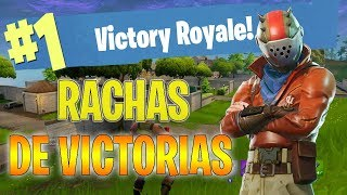 FORTNITE // INTENTANDO RACHAS DE VICTORIAS ALTAS