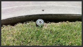 How to replace a sprinkler spray head.