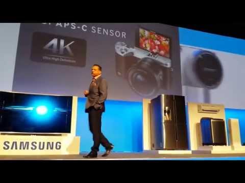 TV, Fridge, Telephone at Samsung Africa Forum 2015, 6e Edition