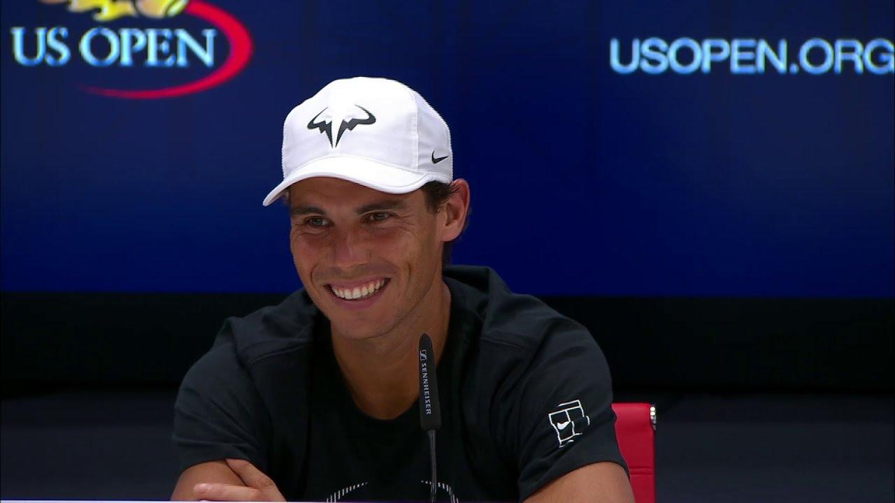2017 US Open Rafael Nadal Sends Press Room Into Laughter
