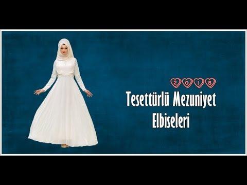 5eb5f5c5758e0 Tesettürlü Mezuniyet Elbisesi Modelleri & 2018 Lookbook - YouTube
