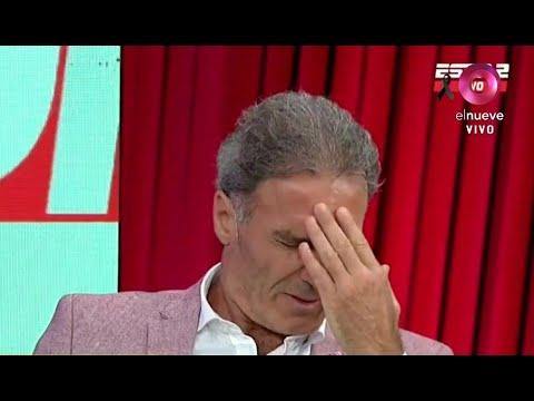 La reacción de Óscar Ruggeri al enterarse de la muerte de Diego Maradona