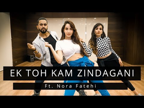 ek-toh-kam-zindagani-|-ft.nora-fatehi-|-tejas-&-ishpreet-|-dancefit-live