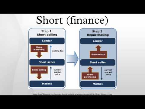 Short (finance)