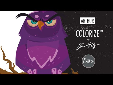 Colorize™ By Tim Holtz®, Arthur - Sizzix