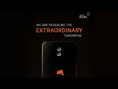 Micromax Dual 5 Live Launch | Sharmaji Technical