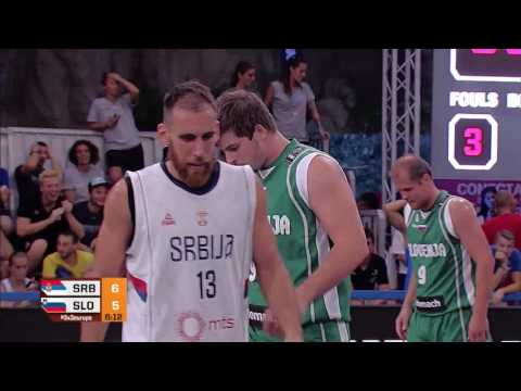 Serbia - Slovenia (17 : 19) - Men's Final FIBA 3x3 European Championships
