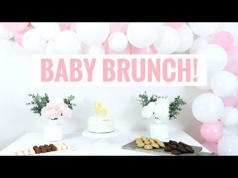 Baby Girl Brunch! | Pregnancy & Motherhood Series | Healthy Grocery Girl