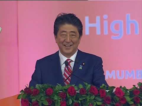 Japan's Abe launches $17-billion bullet train project in India