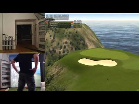 Farmers Insurance Open day 2 - Torrey Pines - Played on SkyTrak and TGC