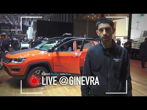 Nuova Jeep Compass   Salone di Ginevra 2017