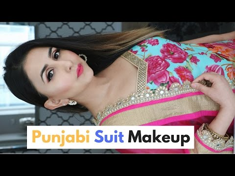 Punjabi Suit Makeup Tutorial