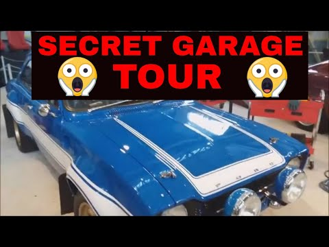 UNIVERSAL STUDIOS SECRET GARAGE TOUR