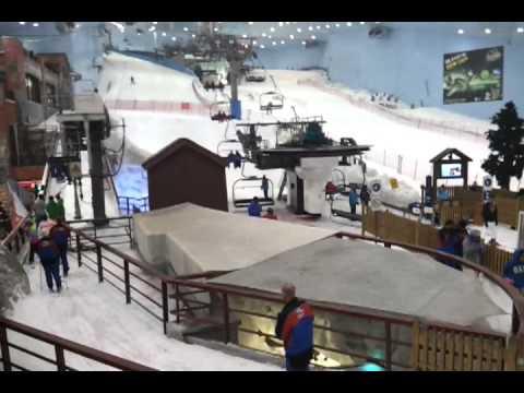 فيديو عن مدينة الثلج في دبي Youtube