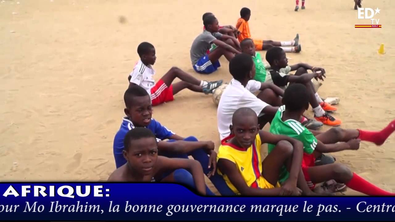 SPORT ZOOM: ECOLE DE FOOT LES ANGES DE KINSHASA.