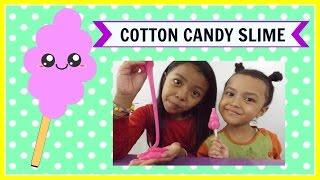 COTTON CANDY SLIME ♥ MUDAH BANGET !