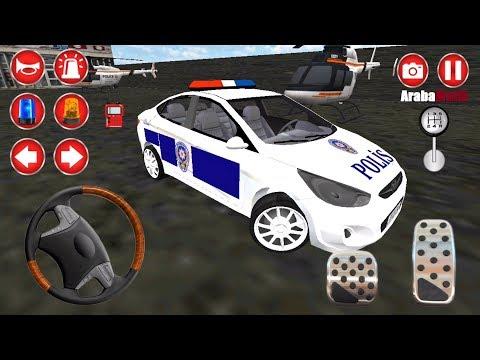 Hyundai Accent Polis Arabası Oyunu (Yeni Güncelleme) // Gerçek Türk Polis Oyunu Simülatörü 3D #3 FHD