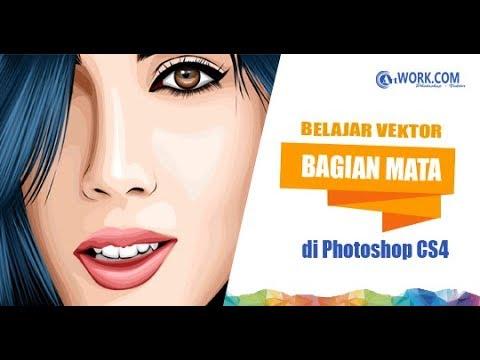 Belajar Mengambar Mata Vektor Dengan Photoshop CS4 Dengan Mudah Dan Simple