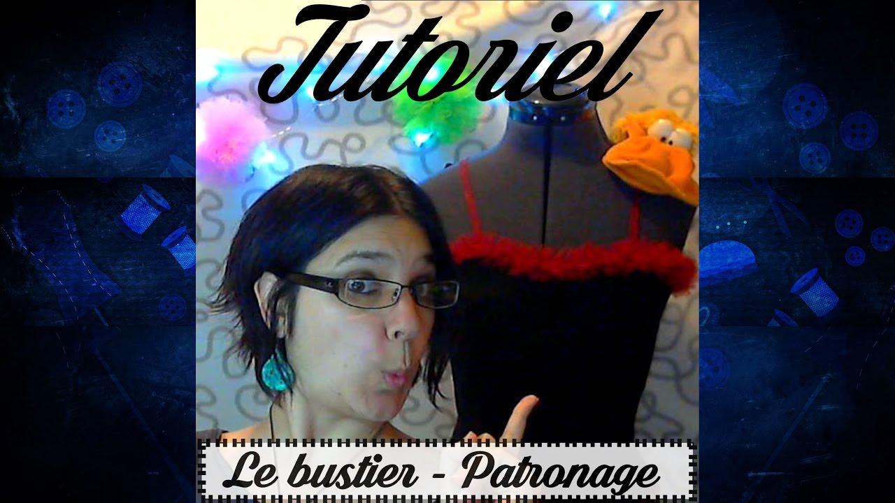 Tuto couture - Patronage du bustier