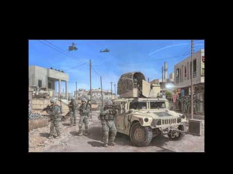 Diorama OIF USF-I QRF Mosul, Iraq Scale 1/35 (W.I.P.)