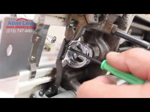 How To Fix He Hook Timing On An Industrial Sewing Machine YouTube Inspiration Fix Timing On Sewing Machine