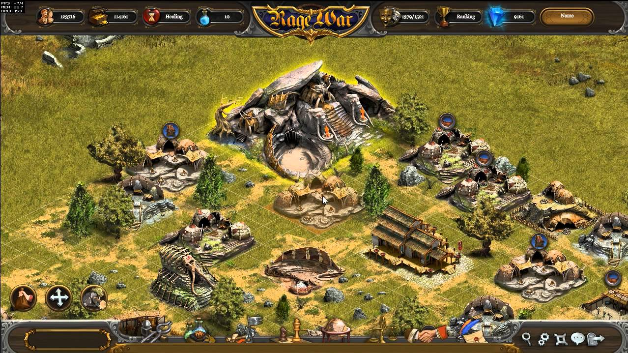 Скриншот Rage War