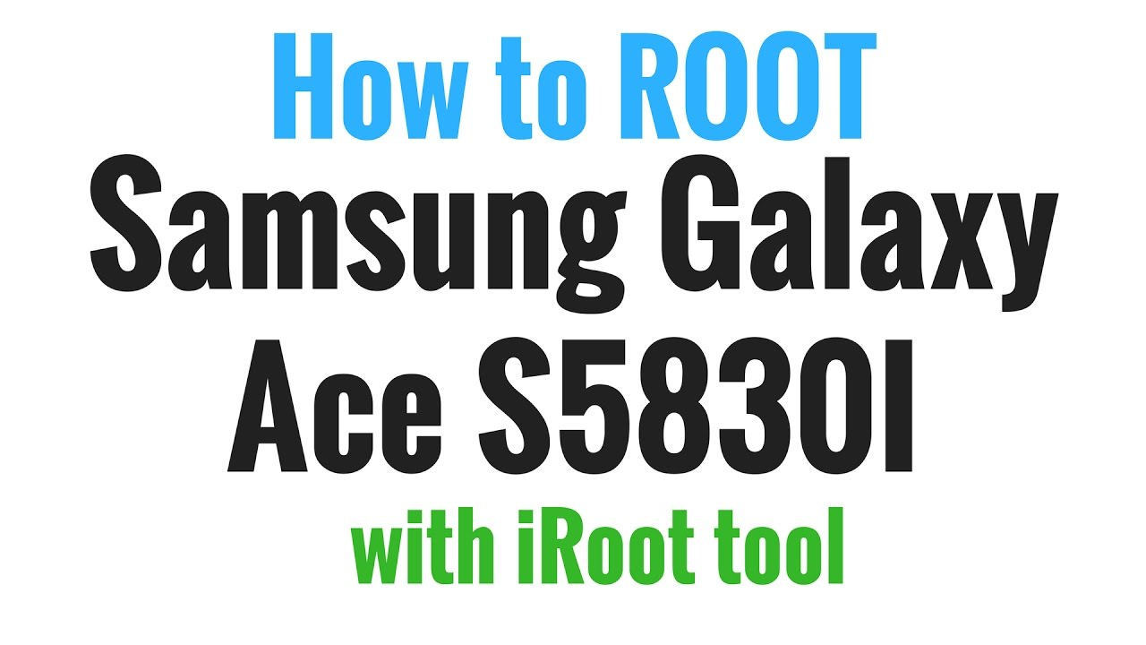 Samsung Galaxy Ace S5830i Root Done With Root Tool Youtube