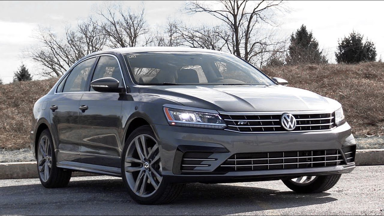 2016 volkswagen passat r line review youtube. Black Bedroom Furniture Sets. Home Design Ideas