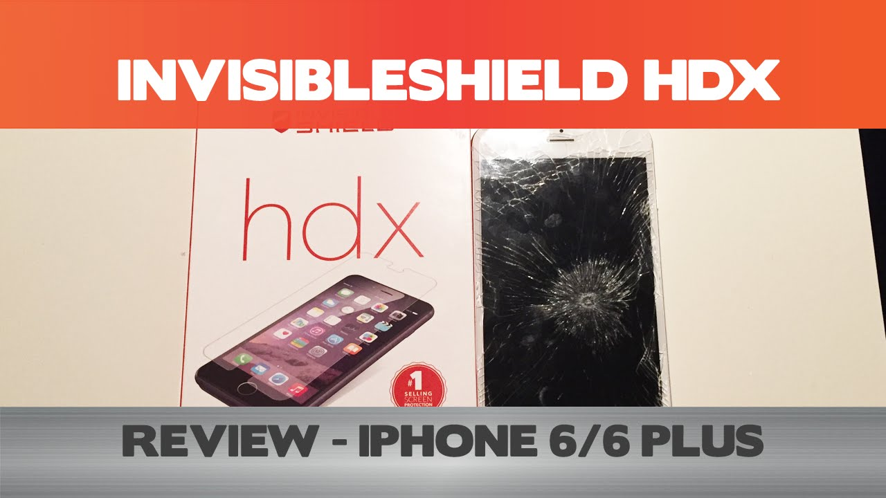 hot sale online 8c824 9bc63 How tough is 3x Shatter protection? InvisibleShield HDX review - iPhone 6/6  Plus