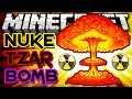BOMBA MAIS PODEROSA DO MINECRAFT! - NUKE e TZAR BOMB - Rival Rebels Mod