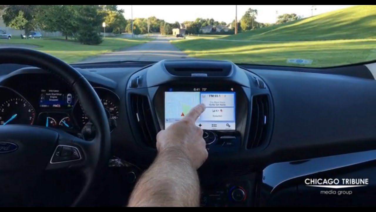 Testing Sync 3 In 2017 Ford Escape Anium