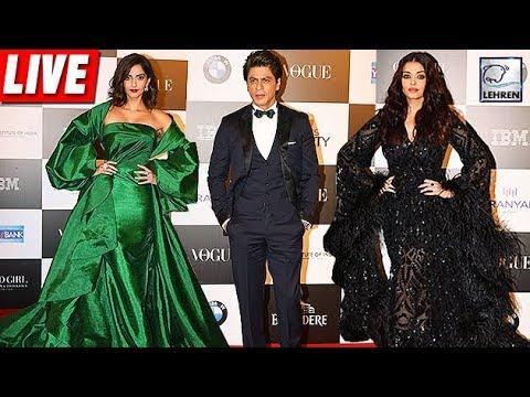 Vogue Women Of The Year Awards 2017: RED CARPET | SRK, Aishwarya
