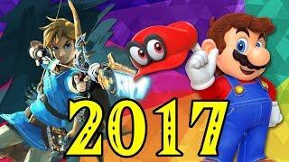 Top 10 Nintendo Games of 2017