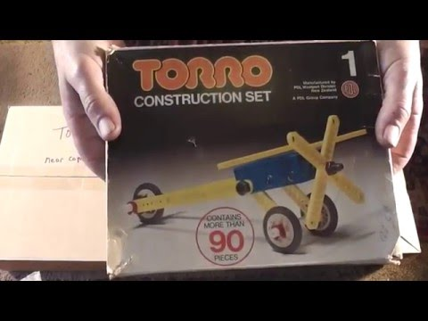 667. Torro, NZ made, Lego & Meccano style toys of the 1970's. file 014