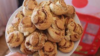 Песочное Печенье ГРИБОЧКИ Оригинально и Очень Вкусно Рецепты.cookies mushrooms.饼干蘑菇