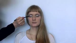 видео Авангардный вечерний макияж пошаговая инструкция