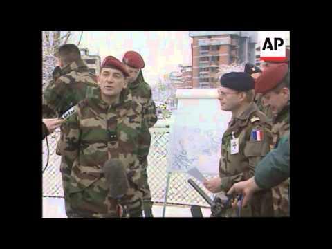 Bosnia - Zeller Speaks From Bridge