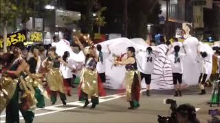 松山まつり2018 野球拳踊り いよぎん連